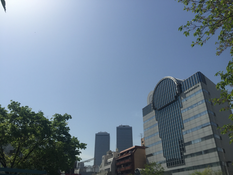 ウェブサイト更新業務で京橋へ